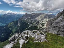 Wide Mountainscape by Burtn
