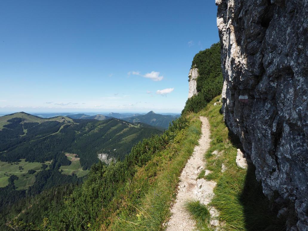 Along The Rocks by Burtn