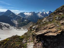 Mountain Background by Burtn