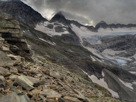 Rock And Glaciers