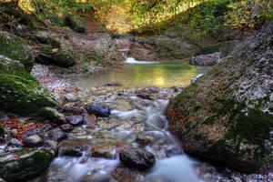 Autumn Riverscape 2nd by Burtn