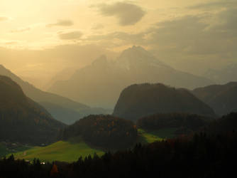 The Soft Light Of Fall by Burtn