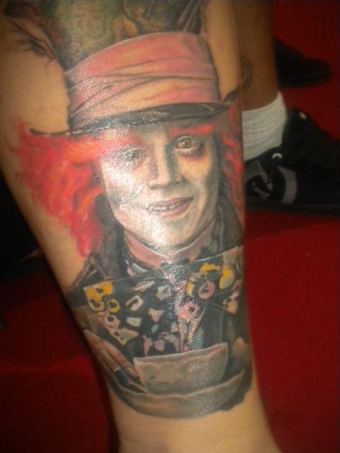 mad hatter tattoos - photo #37