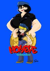 Momeye The Sailor Scout by JenXComics28