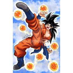 Female Goku by JenXComics28