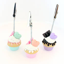 Deco Cupcakes by paper-pastels