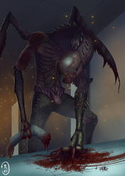 faceless abomination by blacksnakeLee