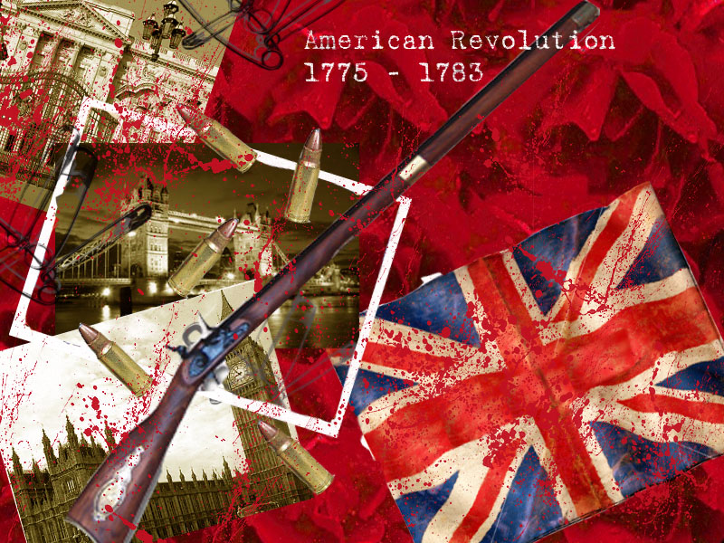 Revolutionary War Birthday Cake