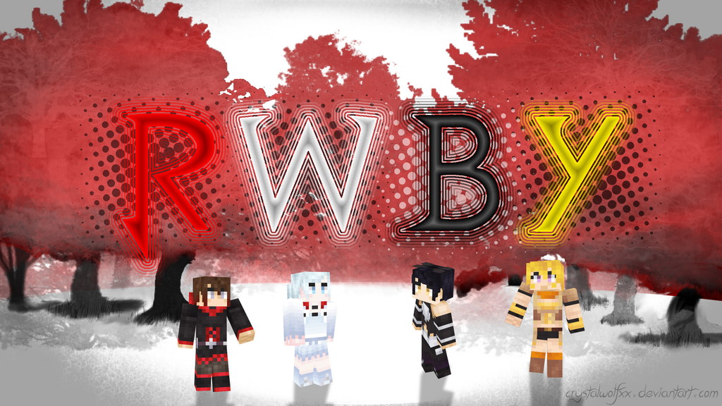 MC RWBY-Wallpaper by CrystalWolfXx