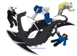 Enderdragon Tickle.. party?