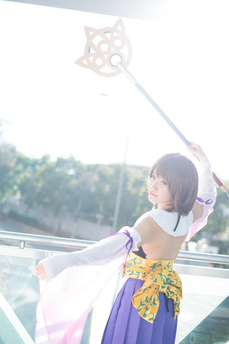 FFX Yuna by TION2287
