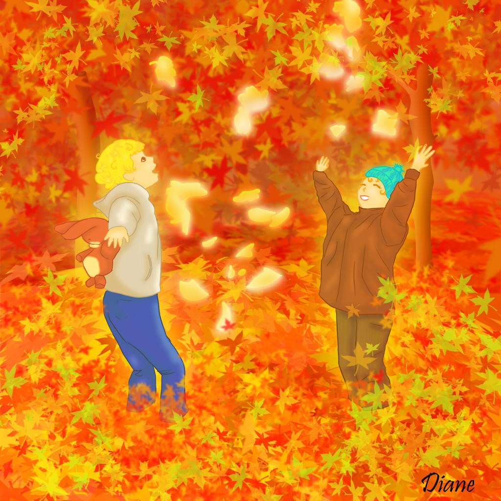 Les couleurs de l 39 automne by dianeaz on deviantart - Les couleurs de l automne ...