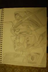 Wing Gundam Head