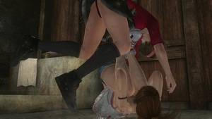 House Fight: Hitomi vs Kasumi 19