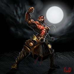 Midnight Warrior by McFjury