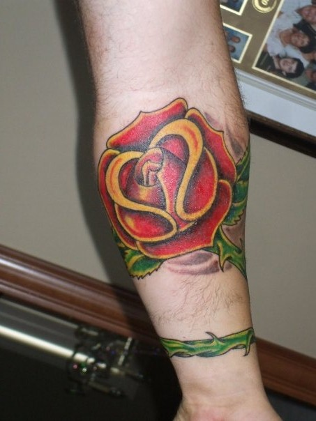 rose tattoo patterns