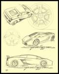Lamborghini Superleggera Sheet