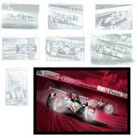 Audi TDI R10 Illustration_Comp by DigitalGreen
