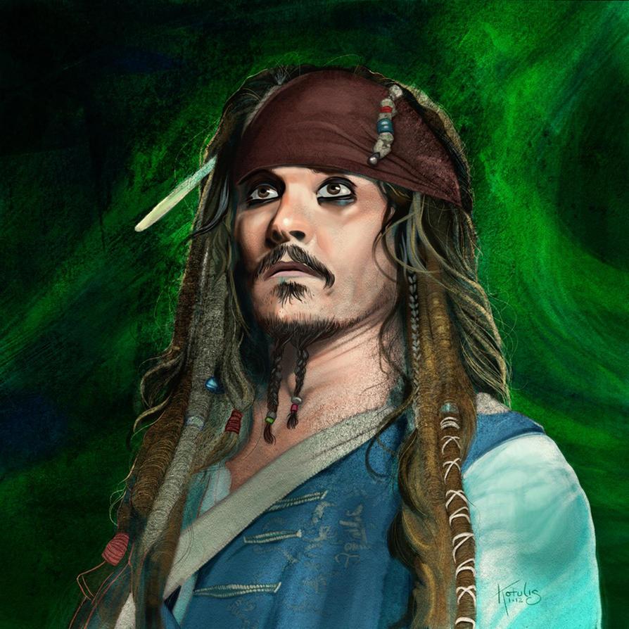 Captain Jack Sparrow by DigitalGreen