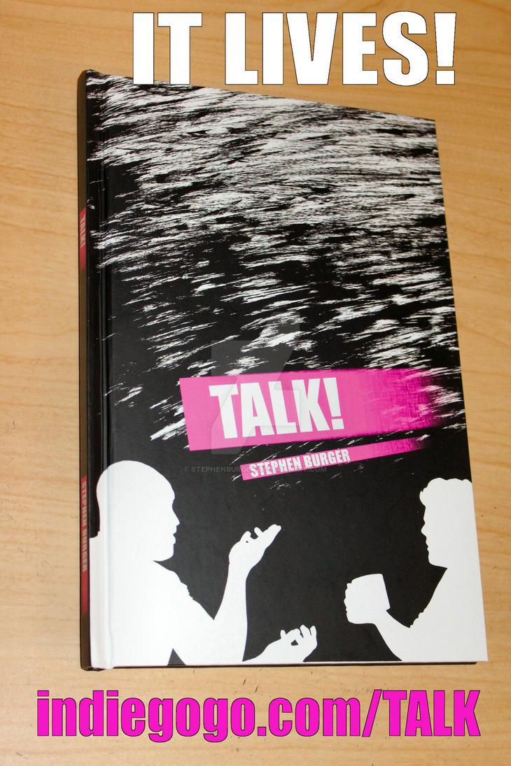 TALK! proof copy by stephenburger