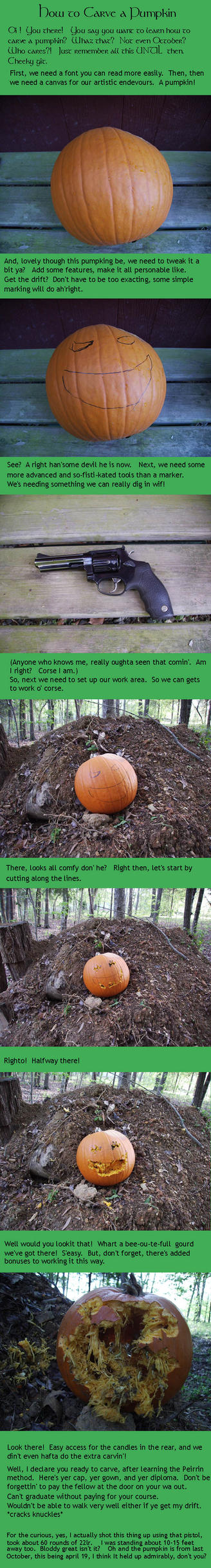 Pumpkin Carving Tutorial by peirrin