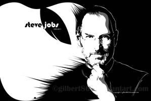 steve jobs by gilbert86II