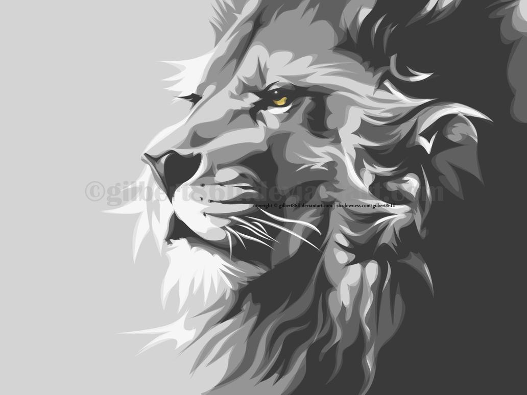 the lion by gilbert86II on DeviantArt