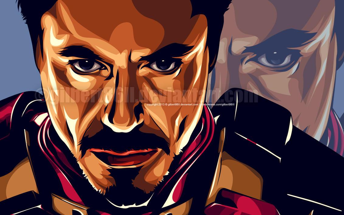 iron man by gilbert86II