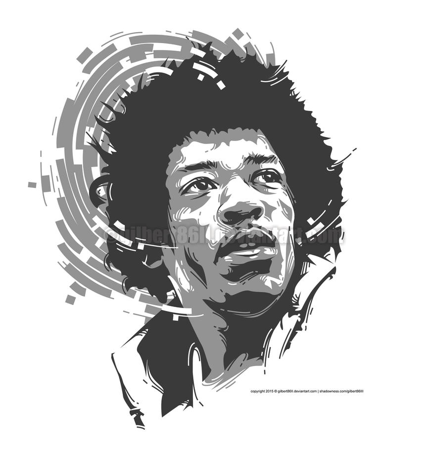 hendrix by gilbert86II