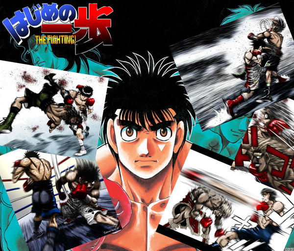 Hajime No Ippo Collage By The-Betteh On DeviantArt