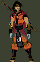 DragonBall Redesign 02: Son Goku COLORS by Dion314