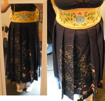 Skirt and obi wip by bananapanik