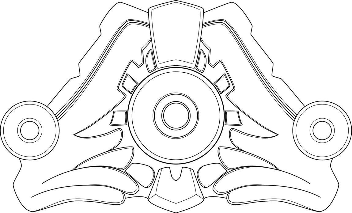 Dragon Trainer Lulu goldplate template by kittyjedrys on DeviantArt