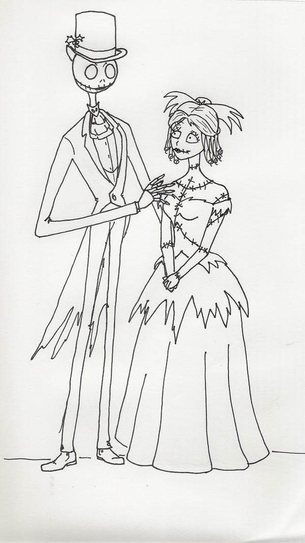 19th Century Jack and Sally by celticreeder on DeviantArt
