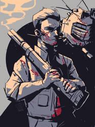 Fallout New Vegas: Skirmish by labotor11
