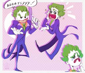 Lego Joker Doodles by labotor11