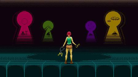Tomb Raider I Pixel Art