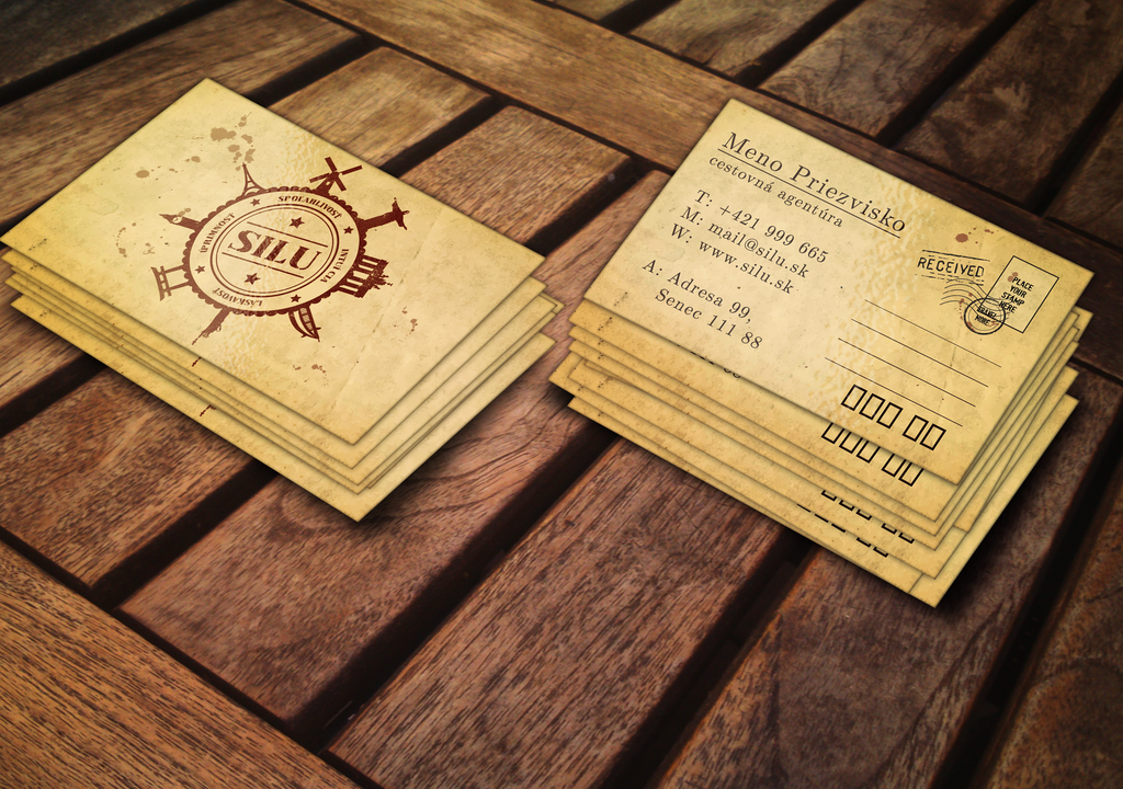 Silu Business Card by Airmoon