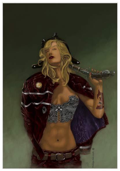 lady killer by Philippe-Bringel