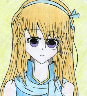 Reader-chan (colored)