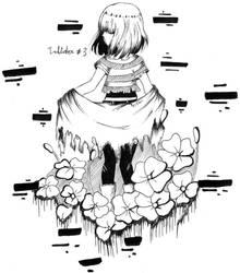 Inktober #3 : Echotale Frisk by YuriHikaru