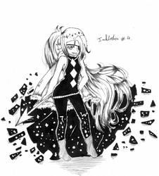 Inktober #4 : Outertale Undyne by YuriHikaru