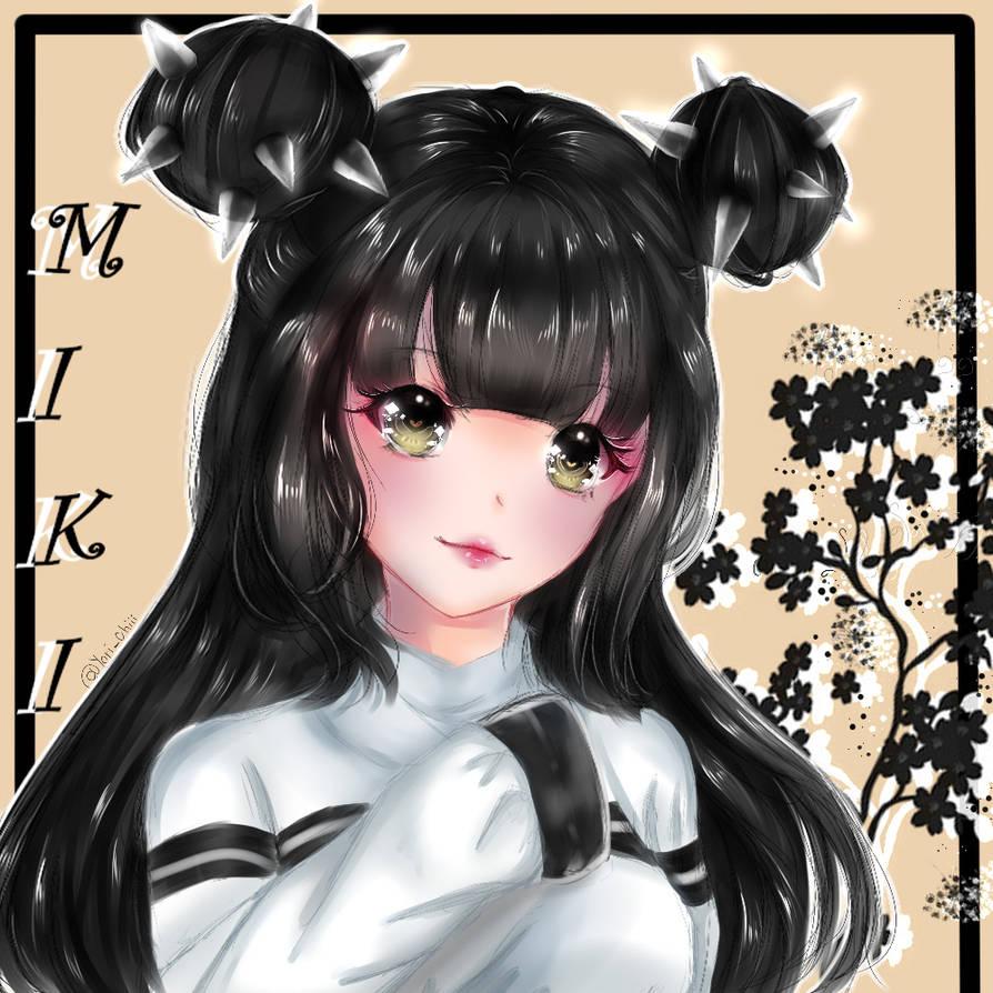 (AT) : Miki by YuriHikaru