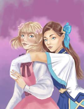 Maria and Katarina
