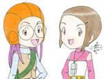 Yolei and Kari by hikari-chan1