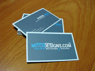 Mitch Designs business card by mitch2004