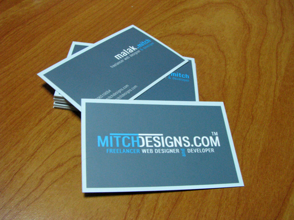 Mitch Designs business card by mitch2004