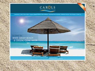 Carols Matrouh Hotel Website by mitch2004