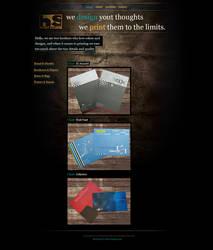 HS Print Studio Website by mitch2004