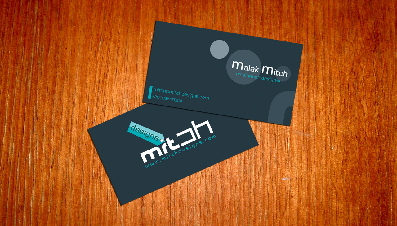 Business card idea by ~mitch2004